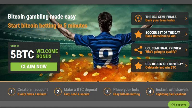 Cloudbet review – Bitcoin sportsbook & casino