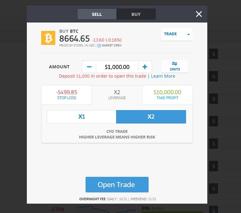 etoro buying bitcoin