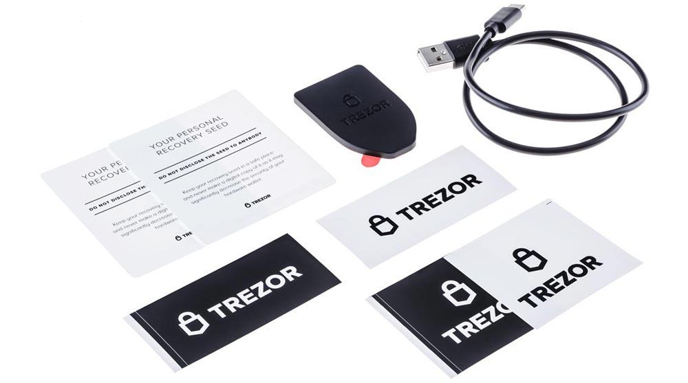 trezor box content