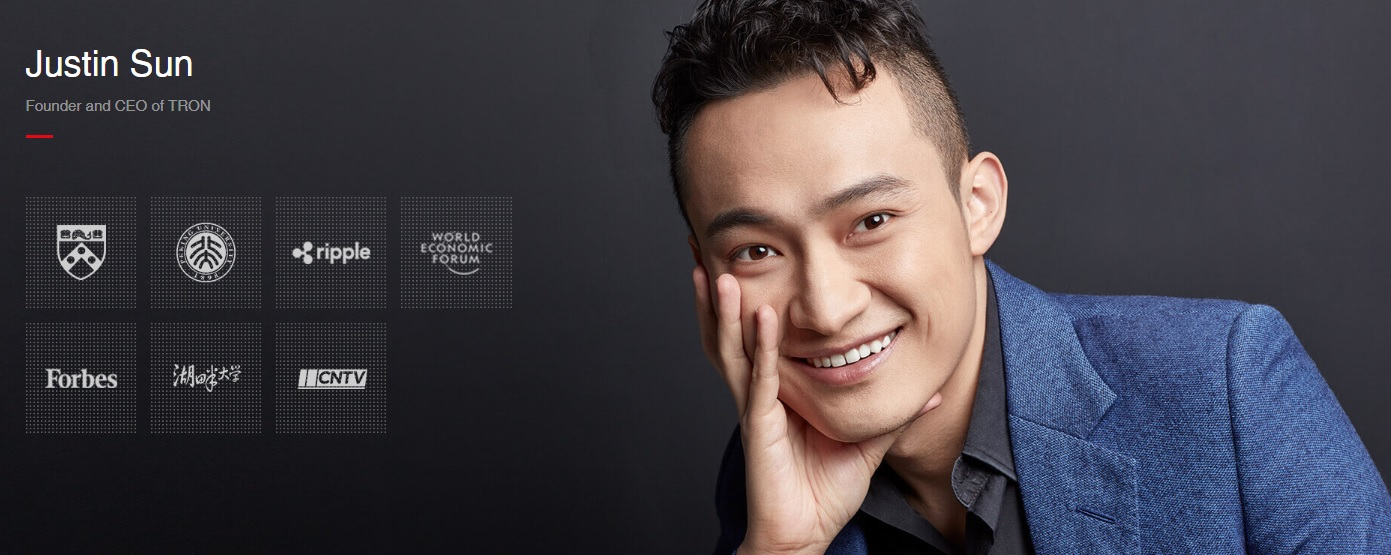 what is tron   justin sun