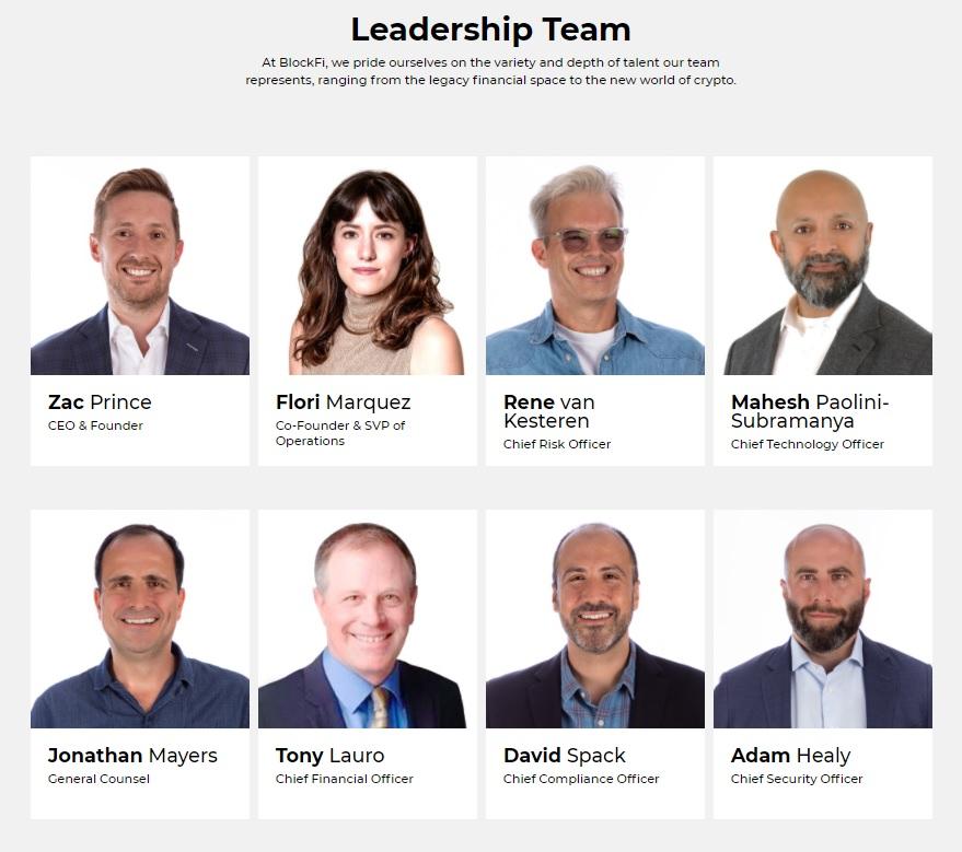 blockfi leadership team