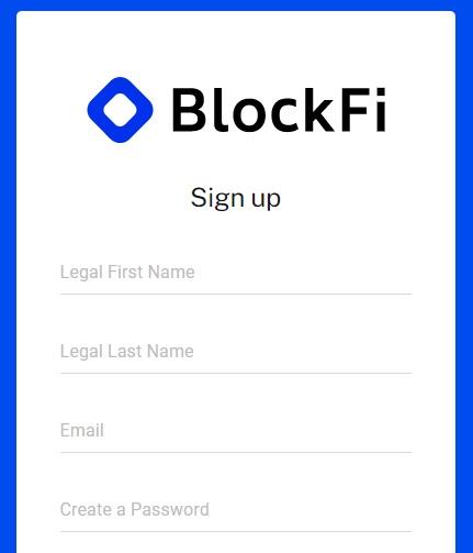 blockfi signup