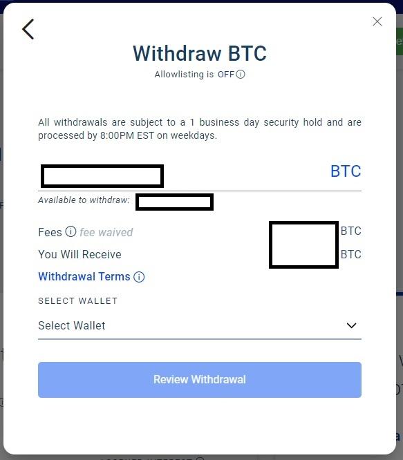 blockfi withdrawal